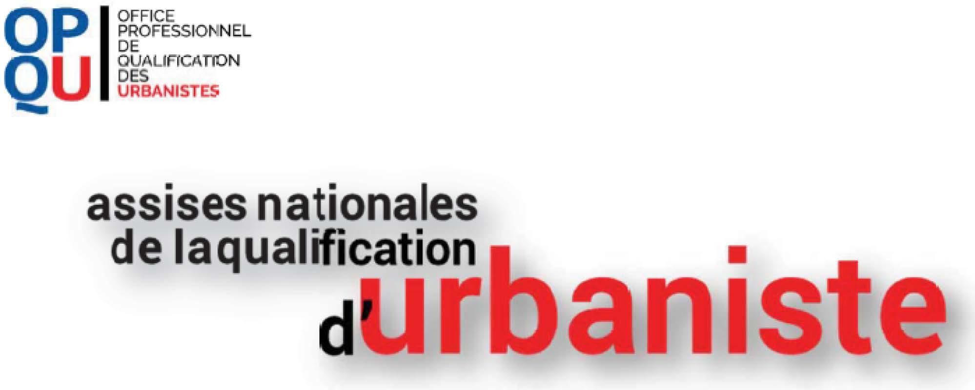 assises de la qualification d'urbanistes